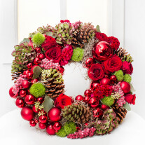 Shining Christmas Wreath